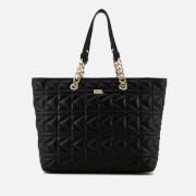 Karl Lagerfeld Women's K/Kuilted Shopper Bag Core - Black/Gold