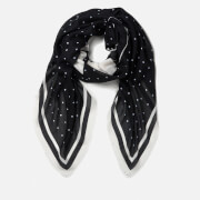 Karl Lagerfeld Women's K/Ikonik Scarf - Black