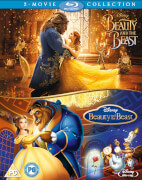Beauty & The Beast Live Action/Animated Doublepack
