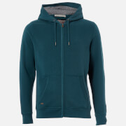 Tokyo Laundry Men's Ashwood Zip Through Hoody - Teal