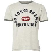 Tokyo Laundry Men's Winterfield Jersey T-Shirt - Oat Grey Marl