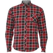 Camisa Tokyo Laundry Cadillo - Hombre - Rojo vino