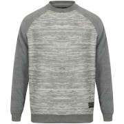 Dissident Men's Johan Raglan Sweatshirt - Grey Marl