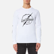 Levi's Men's Long Sleeve Graphic T-Shirt - Lightning White
