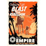 Blast the Rebellion - Zavvi Exclusive Fine Art Screen Print - By Acme Archive's Artist Brian Miller