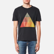 YMC Men's Albers Triangle T-Shirt - Black