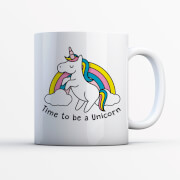 Time To Be A Unicorn Mug