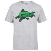 Nintendo Donkey Kong Silhouette Men's Light Grey T-Shirt