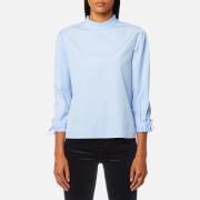 BOSS Orange Women's Epei Shirt - Open Blue