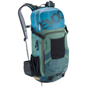 Evoc Protector FR Enduro Team 16L Backpack - Copen Blue/Olive/Slate
