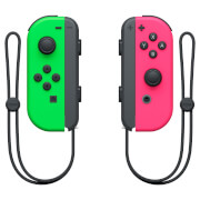 Nintendo Switch Neon Green Joy-Con (L) and Neon Pink Joy-Con (R) Controller Set