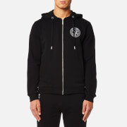 Versace Jeans Men's Zipped Hoody - Nero