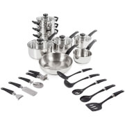 Morphy Richards 970010 17 Piece Kitchen Set - Stainless Steel