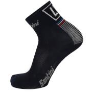 Santini La Vuelta 2017 Stage 1-2-3 Nimes Coolmax Socks - Blue