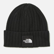 The North Face Men's TNF Logo Boxed Cuffed Beanie - TNF Black