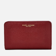 Marc Jacobs Women's Compact Wallet - Deep Maroon