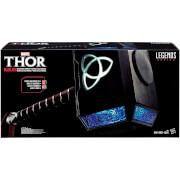 Hasbro Marvel Legends Thor Mjolnir Hammer Electronic Prop Replica