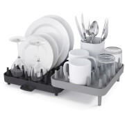 Joseph Joseph Connect 3 Piece Dish Drainer - Grey