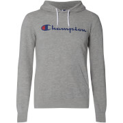 Champion Men's Logo Hoody - Grey Marl