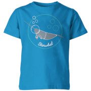Starwhal Kid's Blue T-Shirt