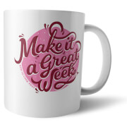 How To Cook That Make It A Great Week Pink Mug