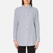 Selected Femme Women's Cally Long Sleeve Shirt - Dark Sapphire