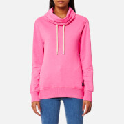 Superdry Women's Funnel Hooded Sweatshirt - Overdyed City Pink