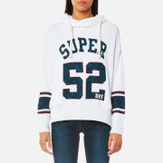 Superdry Women's Varsity Slouch Hooded Sweatshirt - Ice Marl
