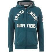 Chaqueta capucha Tokyo Laundry Mount Chippewa - Hombre - Verde azulado