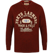 Tokyo Laundry Men's Harper Cove Long Sleeve Top - Oxblood