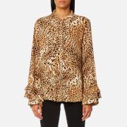 Gestuz Women's Christine Leopard Shirt - Leopard