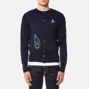 Vivienne Westwood MAN Men's Knitted Cardigan - Navy