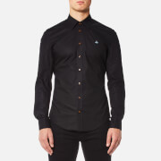 Vivienne Westwood MAN Men's Stretch Poplin Classic Shirt - Black