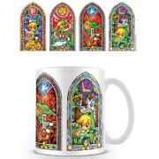 The Legend of Zelda Coffee Mug (Stained Glass)