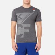 Reebok Men's CrossFit Burnout Short Sleeved T-Shirt - Black