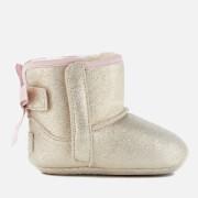 UGG Babies' Jesse Bow II Metallic Pre-Walker Boots - Gold