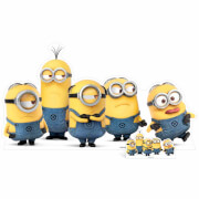 Despicable Me 3: Mischievous Minions Group Pose Over-Sized Cut Out