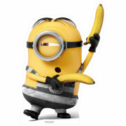Despicable Me 3: Prison Minion with Bananas Small Cut Out