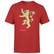 Game of Thrones Lannister Hear Me Roar Men's Red T-Shirt