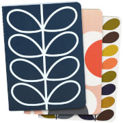 Orla Kiely Mini Notebook - Multi (Set of 3)