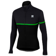 Sportful Giara SoftShell Jacket - Black/Green Fluo