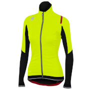 Sportful Women's Fiandre NoRain Jacket - Yellow Fluo/Black