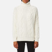 Superdry Women's Esmay Cable Knitted Jumper - Cream
