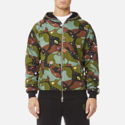 Billionaire Boys Club Men's All Over Space Camo Zip-Through Hoody - Black