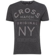 Crosshatch Men's Laramie T-Shirt - Charcoal Marl