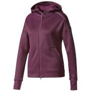 adidas Women's ZNE Heat Training Hoody - Purple