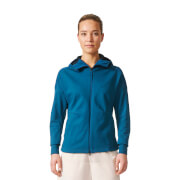 adidas Women's ZNE Duo Hoody - Blue/Black