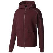 adidas Men's ZNE Training Hoody - Burgundy