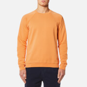 Folk Men's Raglan Sweatshirt - Bitter Orange