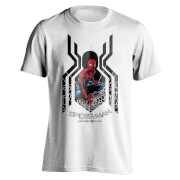 Marvel Spider-Man Men's Homecoming Spider Symbol T-Shirt - White